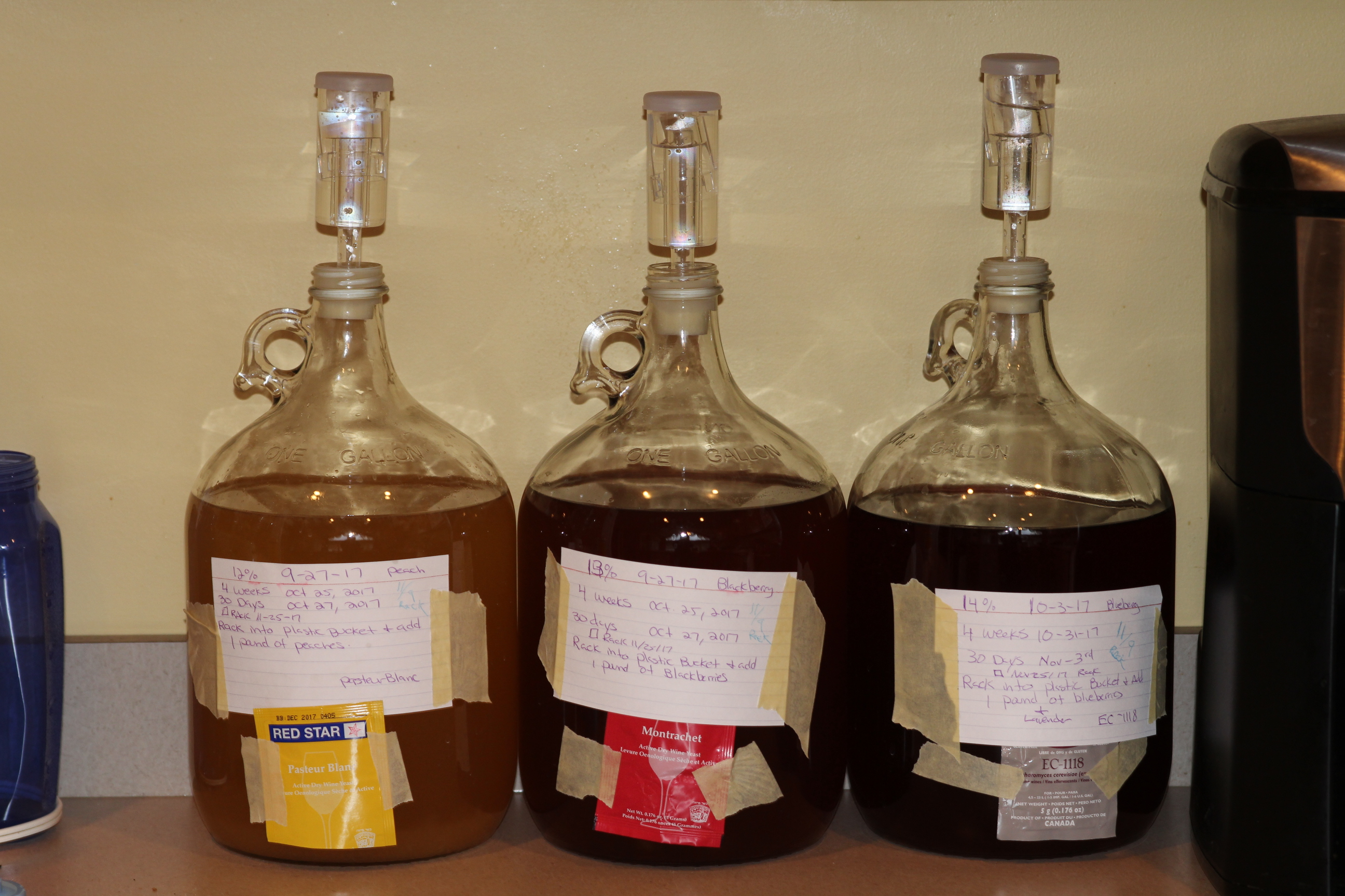 Mead Making 2nd Rack